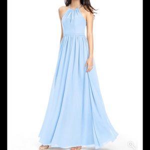 Azazie Kailyn Sky Blue bridesmaid dress